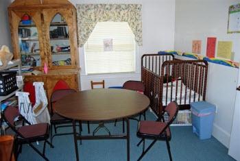 nursery scene